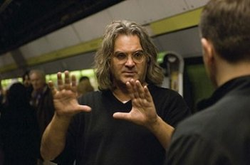 Paul Greengrass sul set del film The Bourne Ultimatum