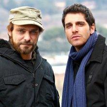 Alessandro Preziosi e Gianpaolo Morelli in una scena de 'Il capitano 2', episodio 'Operazione quarto uomo'