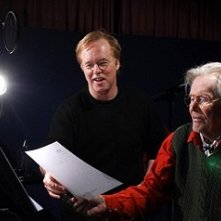 Brad Bird e Peter O'Toole sul 'set' di Ratatouille