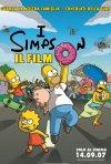 La locandina italiana di I Simpson - il film