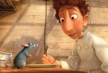 Una scena del film Ratatouille, del 2007