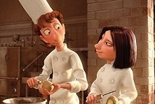 Due protagonisti del film Ratatouille