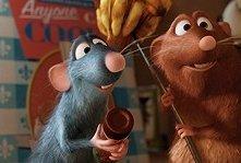 Una scena del film Ratatouille, realizzato dalla Pixar