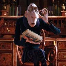 L'insopportabile critico culinario Anton Ego del film Ratatouille