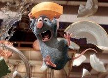 Una scena 'drammatica' del film Ratatouille