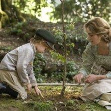 keira Knightley in una scena del film Seta