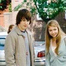 Alex Neuberger e Taylor Momsen in una scena del film Underdog