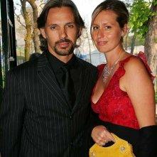 Paul Belmondo e sua moglie