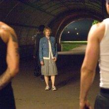 Jodie Foster in una sequenza de Il buio nell'anima
