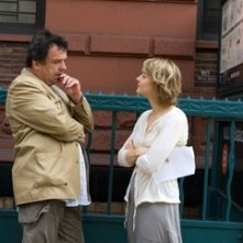 Neil Jordan e Jodie Foster sul set de Il buio nell'anima