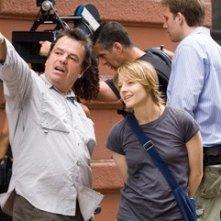 Neil Jordan con Jodie Foster sul set de Il buio nell'anima