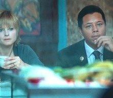 Terrence Howard e Jodie Foster in una sequenza de Il buio nell'anima
