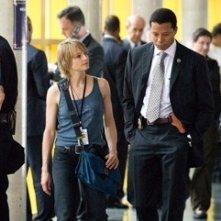 Terrence Howard e Jodie Foster in una scena de Il buio nell'anima