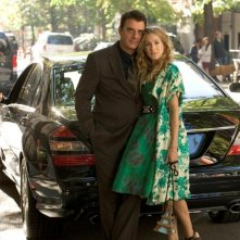 Sarah Jessica Parker e Chris Noth nella prima foto ufficiale del film di Sex and the City