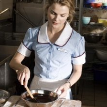 Keri Russell in una scena del film Waitress