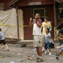 Cuba Gooding Jr  in una scena del film Il campeggio dei papà