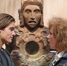 Kevin Zegers di fronte a Samaire Armstrong in una scena di Adamo ed Evo