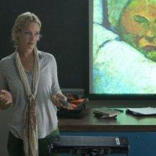 Uma Thurman in una sequenza del thriller Davanti agli occhi
