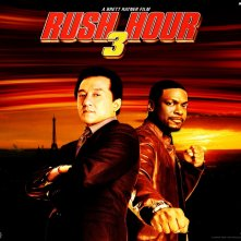 Un wallpaper di Jackie Chan e Chris Tucher nel film Rush Hour - Missione Parigi