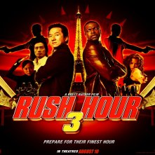 Wallpaper del film Rush Hour 3 con Chris Tucker e Jackie Chan