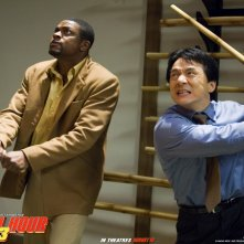 wallpaper di Jackie Chan e Chris Tucher nel film Rush Hour - Missione Parigi