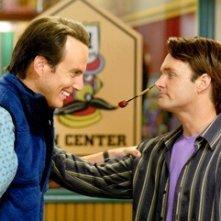 Will Arnett e Will Forte in una scena de I fratelli Solomon