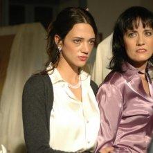 Coralina Cataldi Tassoni con Asia Argento in una scena del film La terza Madre