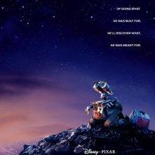 La locandina del film d'animazione Wall-E