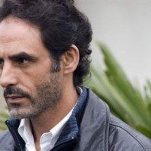 l'attore Ahmed Hefiane in una scena de La giusta distanza