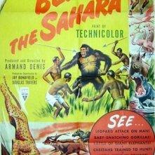 La locandina di Oltre il Sahara