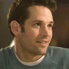 Paul Rudd in una scena di Molto incinta
