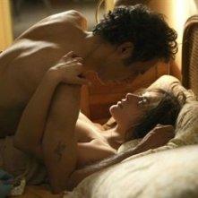 Una scena d'amore tratta dal film La giusta distanza