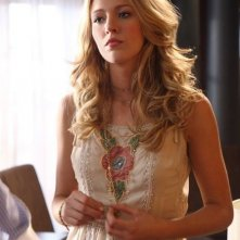 Blake Lively in una scena di Gossip Girl
