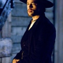 Brad Pitt in un'immagine de L'assassinio di Jesse James