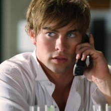 Chace Crawford in una scena di Gossip Girl