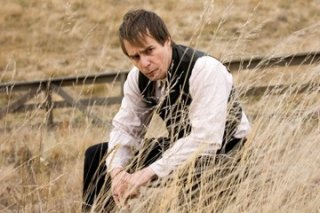 Sam Rockwell in una sequenza de L'assassinio di Jesse James per mano del cordardo Robert Ford