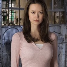Summer Glau in una foto promozionale di Sarah Connor Chronicles