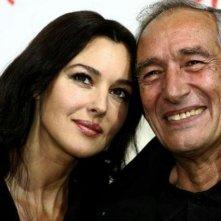 Festa del Cinema  2007: Una splendida Monica Bellucci presenta Le deuxieme souffle assieme ad Alain Corneau