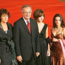 Festa del Cinema di Roma 2007: Veltroni con i familiari