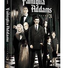 La copertina DVD di la famiglia Addams - Volume 3