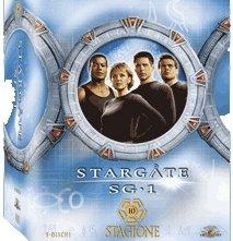 La copertina DVD di Stargate SG-1 - stagione 10