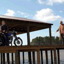 Hayden Christensen e Sienna Miller nel film Factory Girl