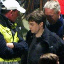 Daniel Radcliffe sul set di Harry Potter e il principe mezzosangue