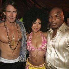 Halloween 2007: Michael Bay con Hiromi Oshima e Mike Tyson