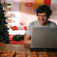 Fabio De Luigi in una scena di Natale in Crociera
