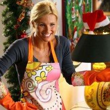 Michelle Hunziker in una scena di Natale in Crociera