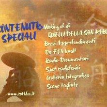 La schermata del disco 2 (contenuti speciali) di Quelli della San Pablo