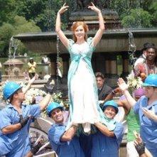 Amy Adams  in una scena di Come d'incanto (Enchanted)