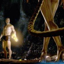 Il protagonista del film La leggenda di Beowulf