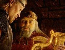 Una sequenza del film La leggenda di Beowulf